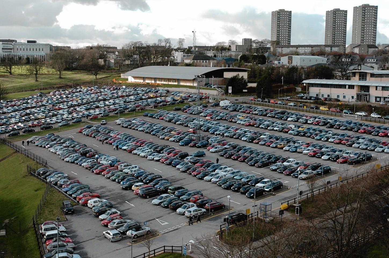 The current ARI car park