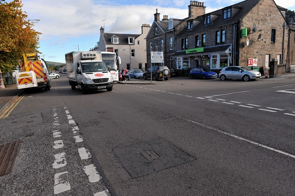 Aberlour High Street