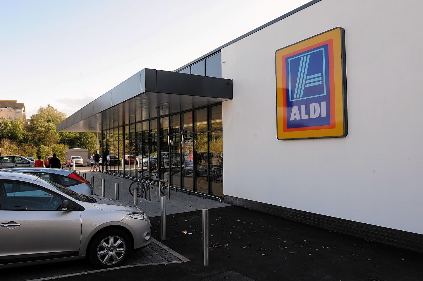 The new Aldi in Ellon