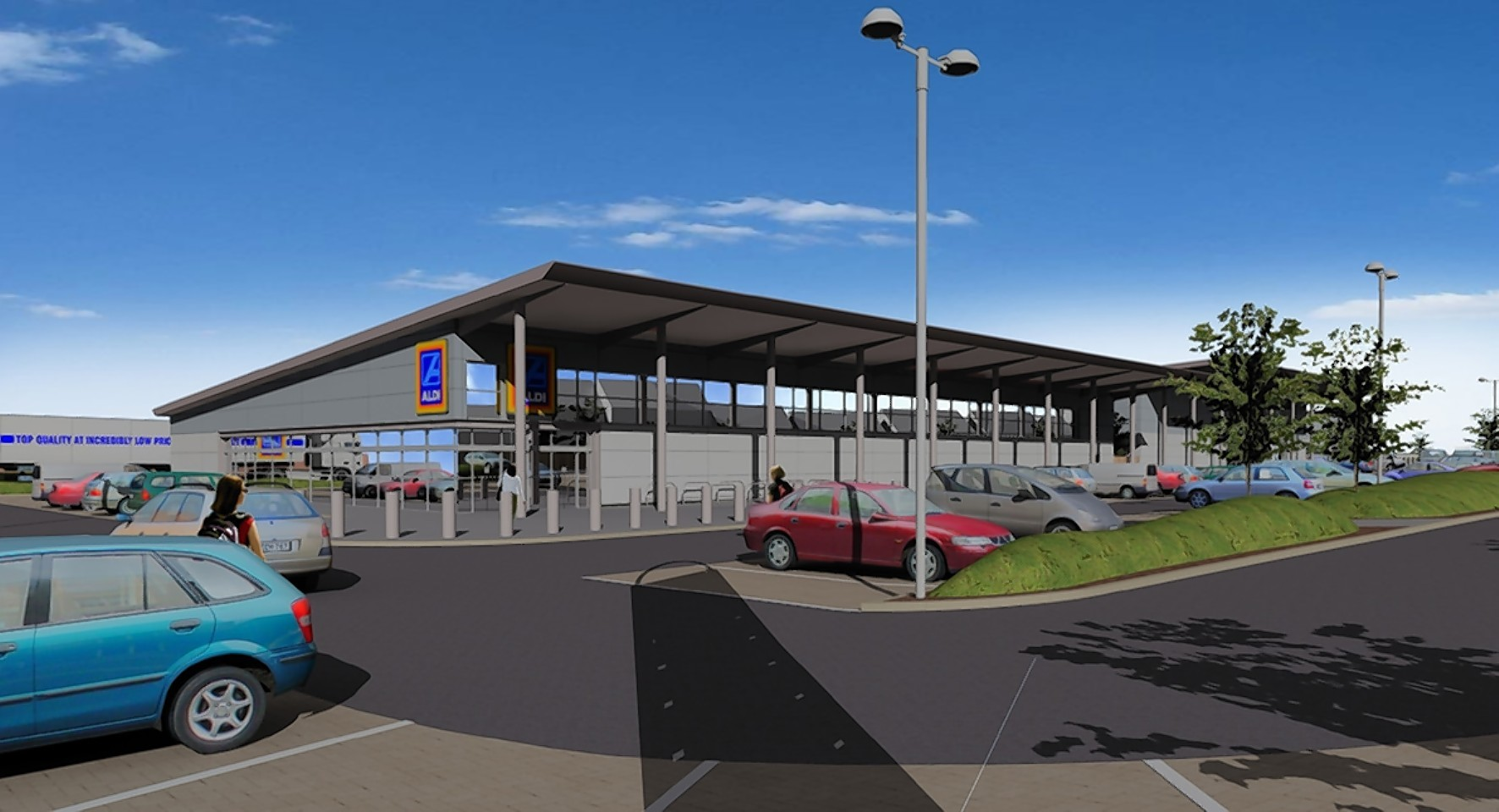 Artist's impression of how the new store may look