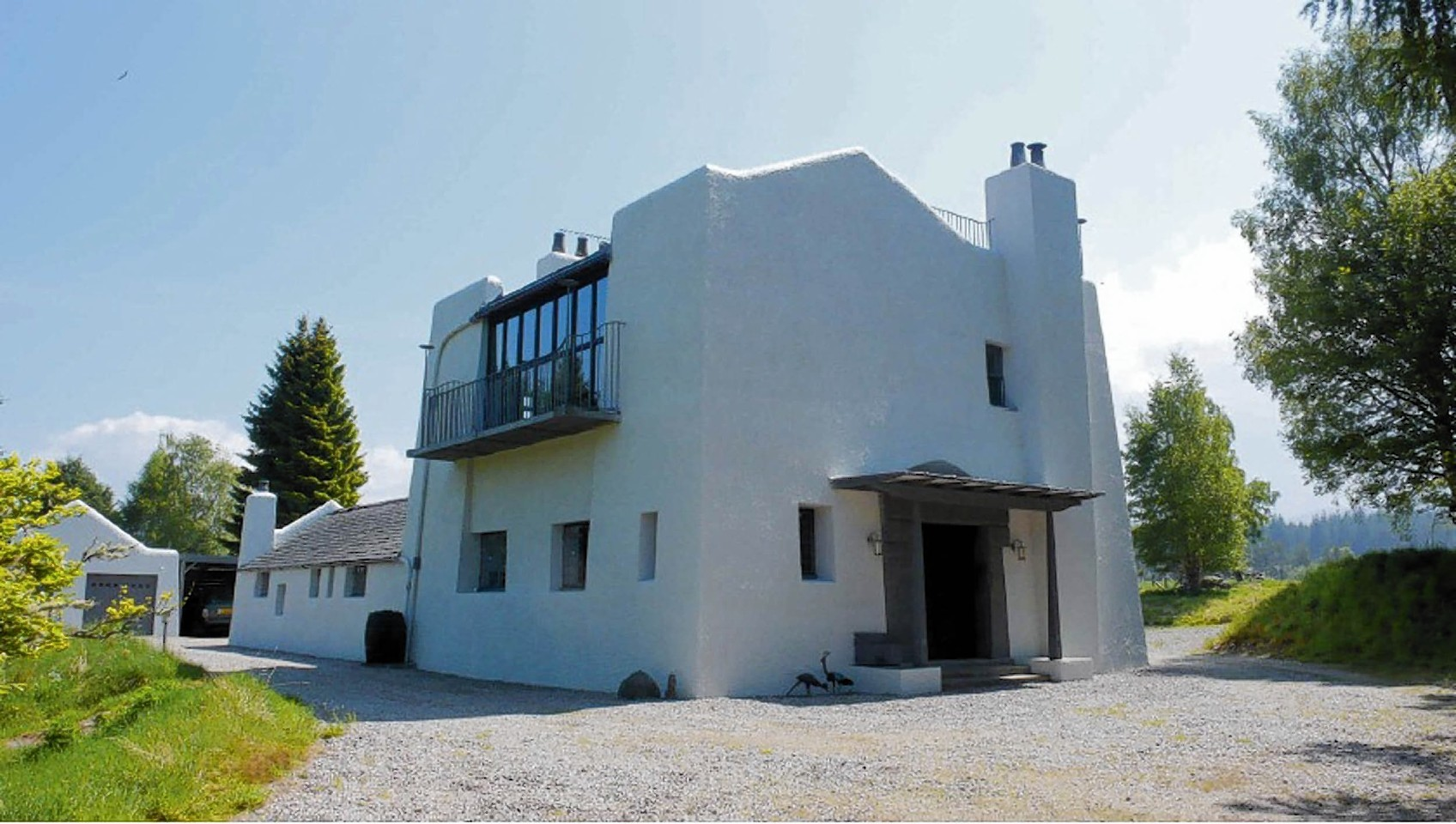 The home designed by Charles Rennie Mackintosh