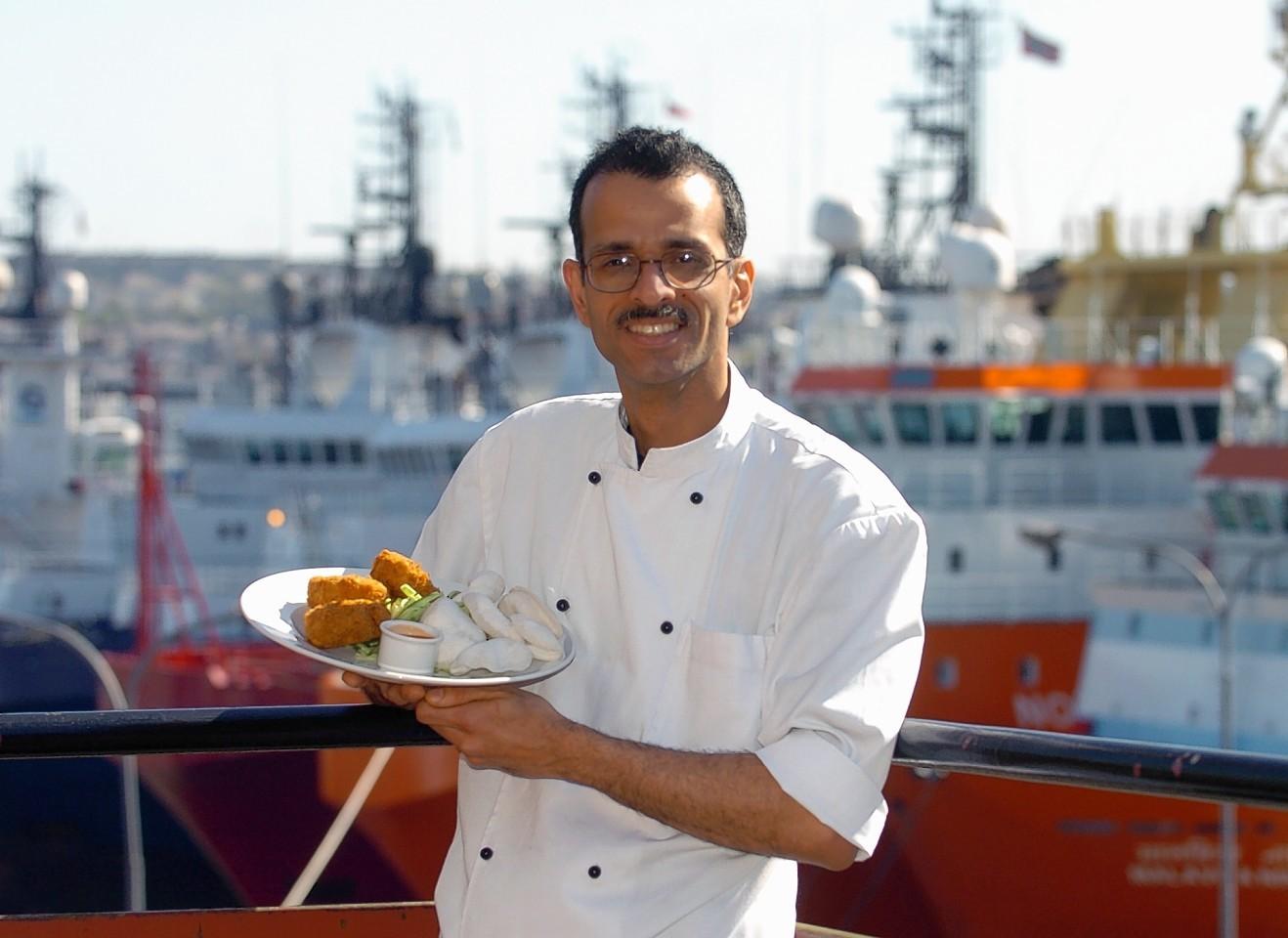Chef Vispy Bamboat