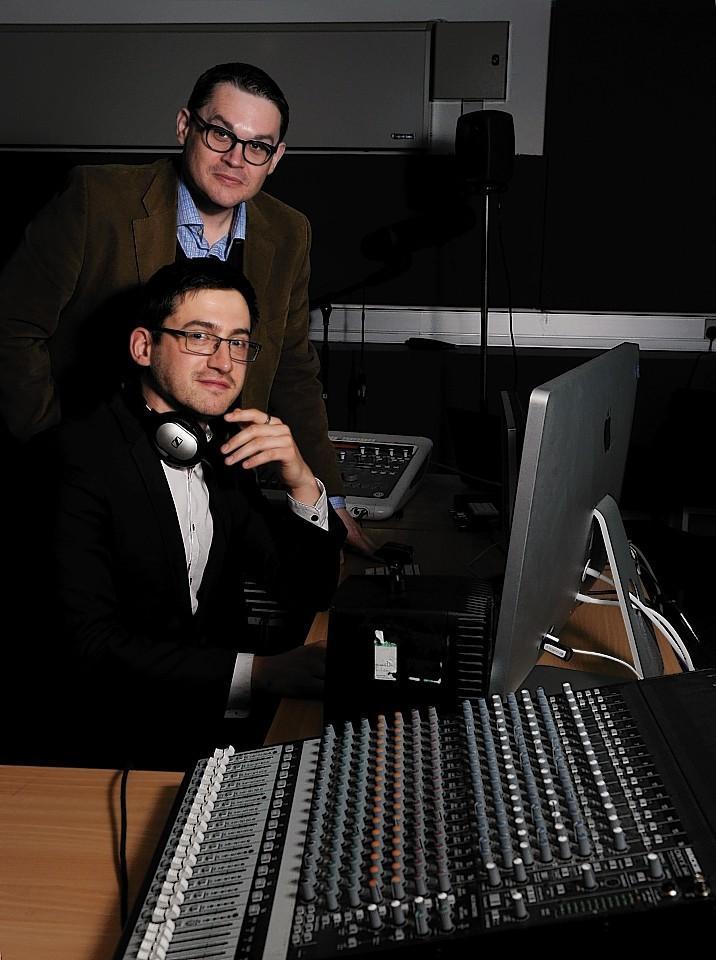 Composer Benjamin McMillan