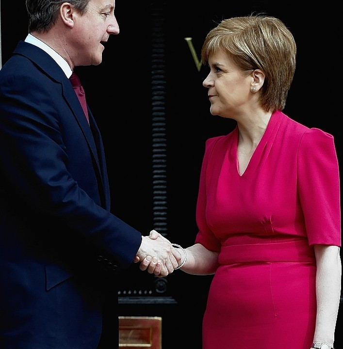 Prime Minister David Cameron and First Minister Nicola Sturgeon