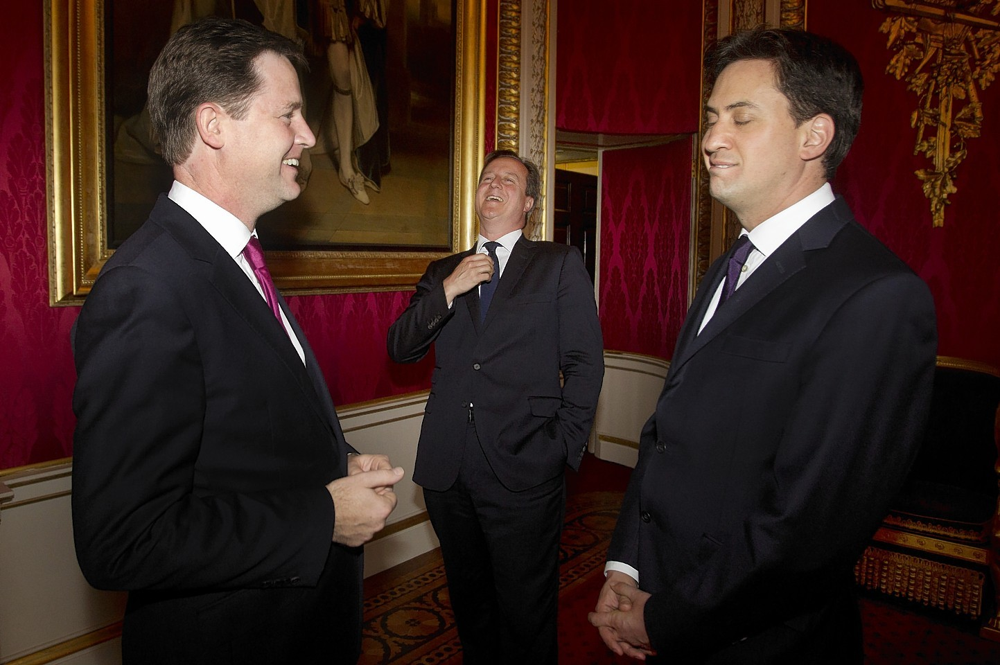 Honestly, it could all go smoothly, no laughing you three!