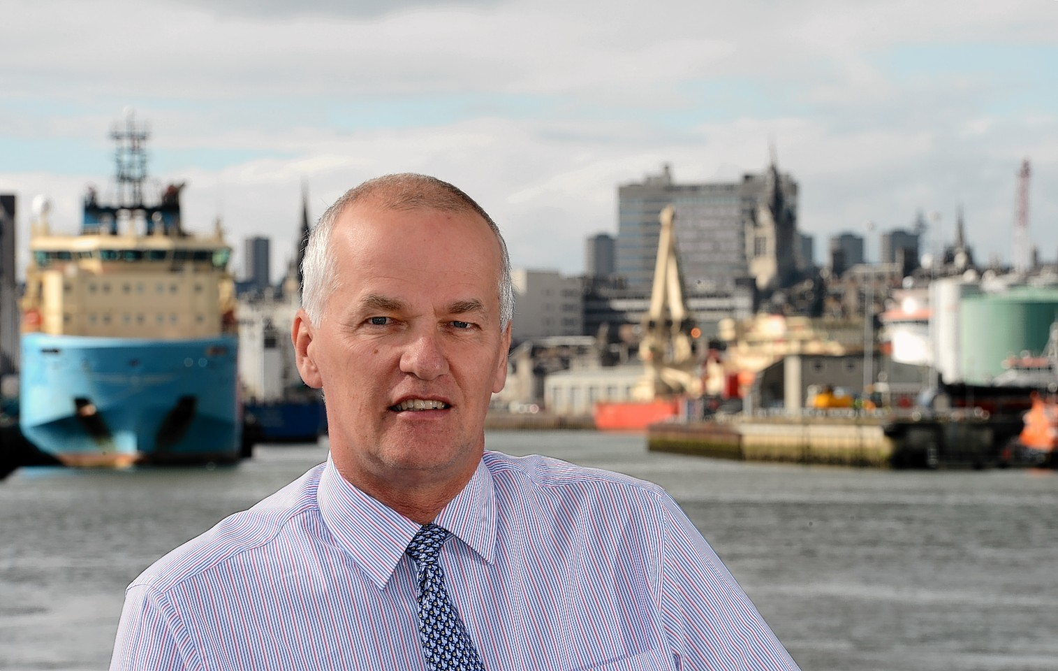 Aberdeen Harbour Board chief executive Colin Parker