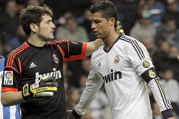 Cristiano Ronaldo and Iker Casillas