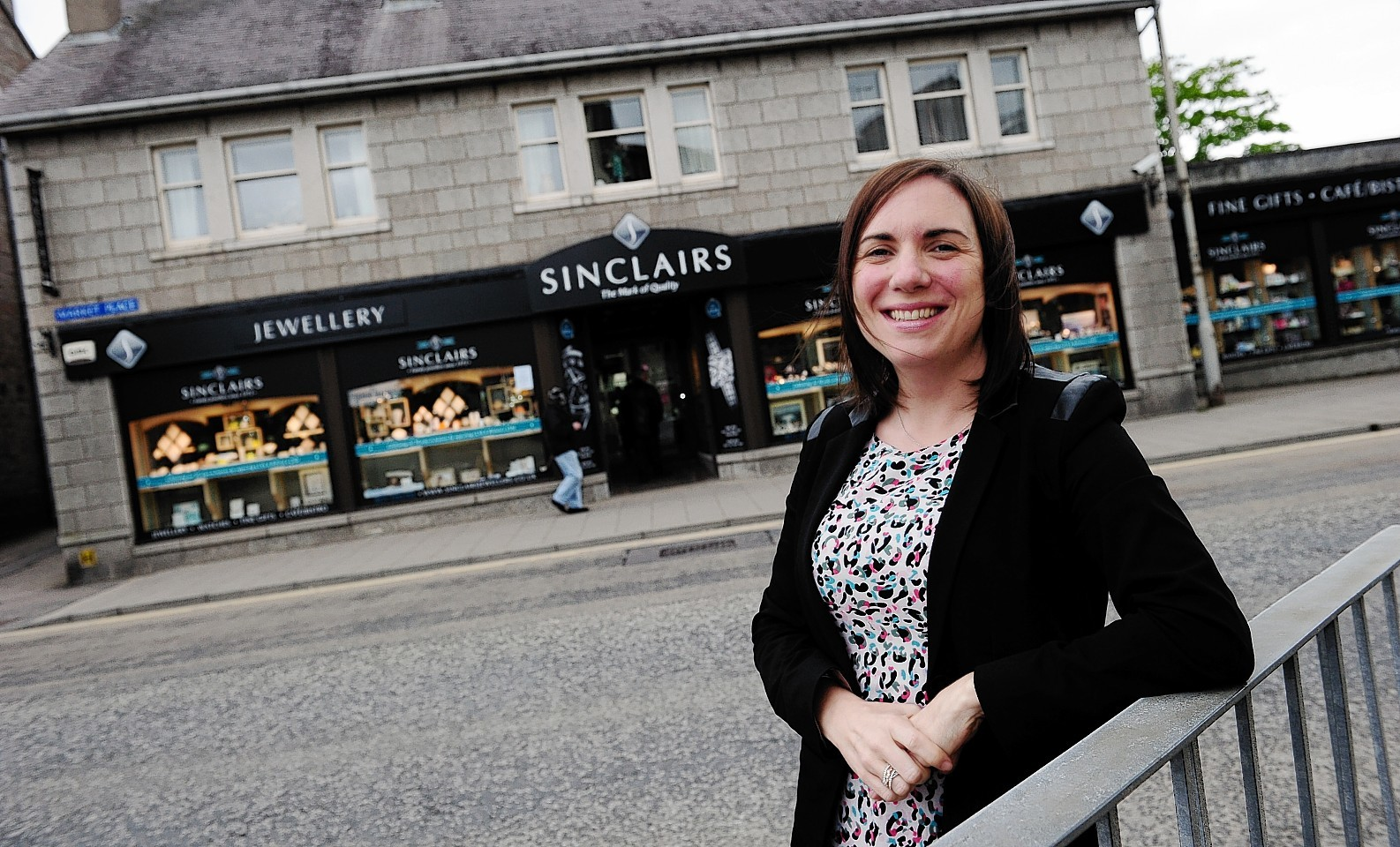 Debbie Sinclair of Sinclairs the Jewellers, Inverurie. Picture by Kami Thomson