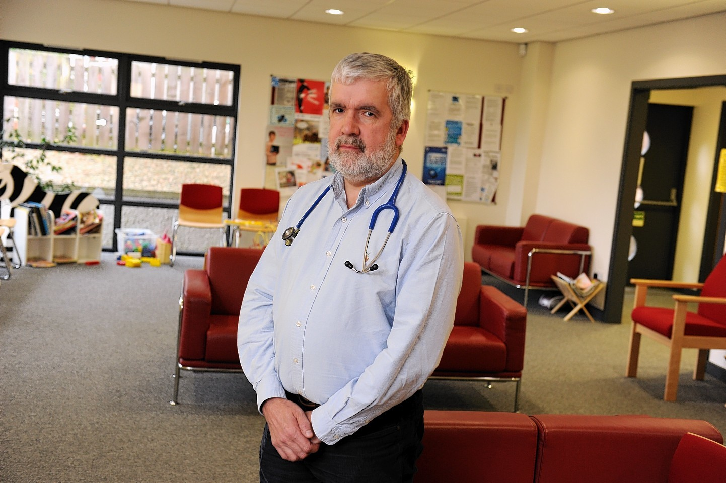 Dr Ken Lawton has warned there is a deepening crisis in the Scottish health service. Picture by Kenny Elrick
