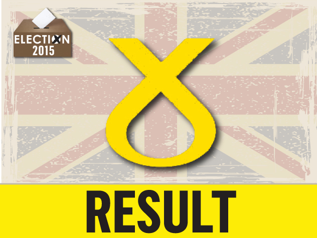 SNP have taken the seat