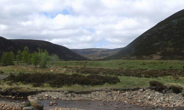 The scenic Glen Tanar estate