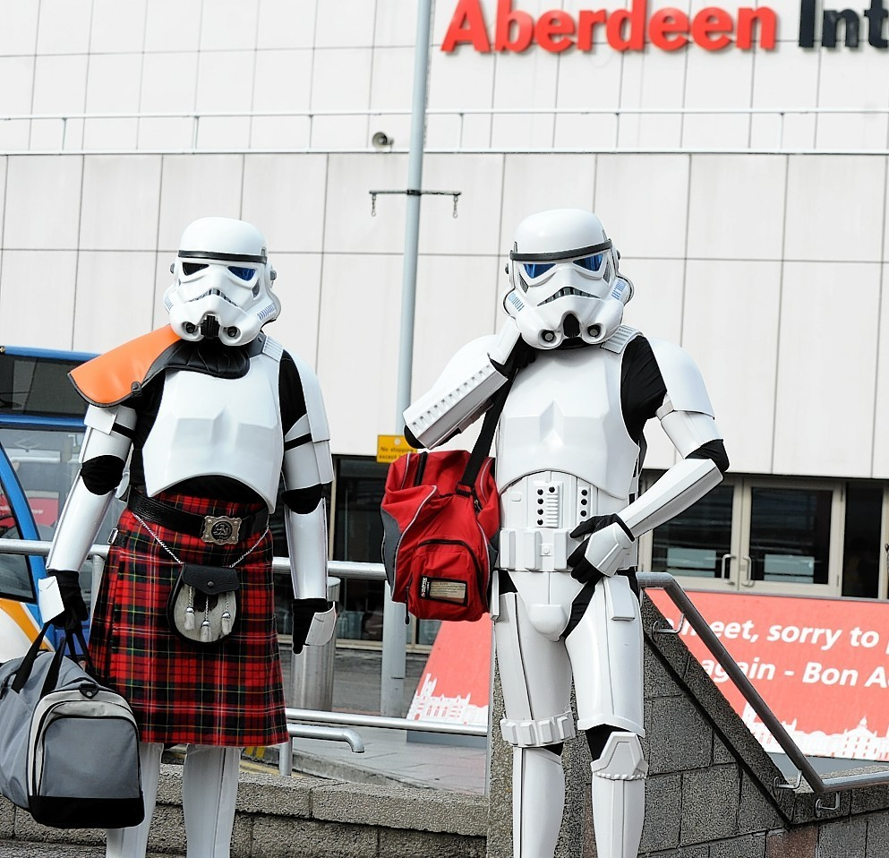 Storm troopers arrive for last year's Granite City Comic Con
