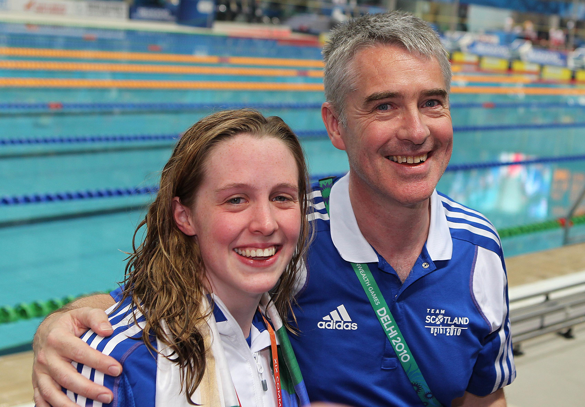 Hannah Miley's father Patrick will be giving a talk on coaching his daughter from Inverurie to the Olypmics.
