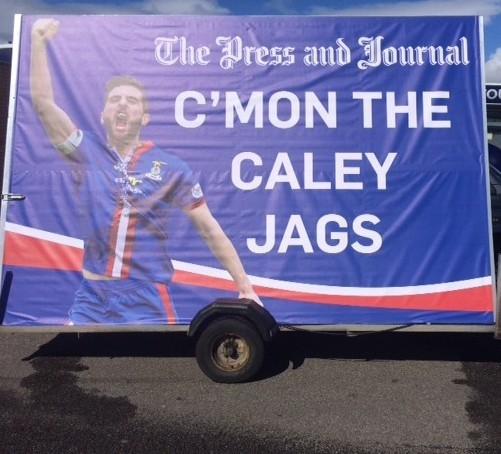 The Press and Journal show support for Caley Thistle