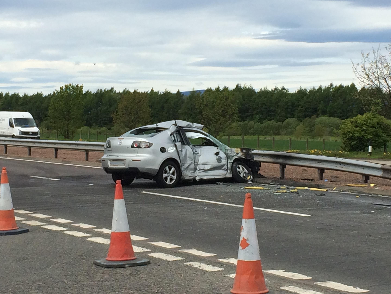 a90 crash