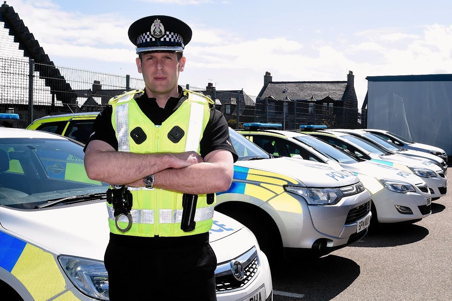 Inspector Stewart Drummond