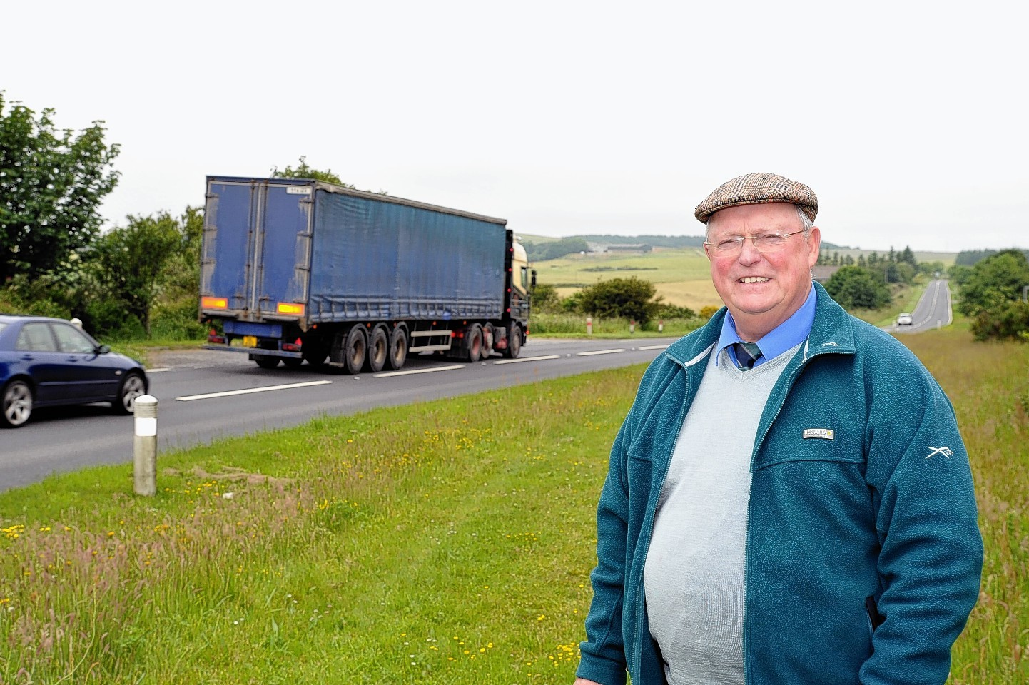 Councillor Tait says work could start in May to help Rathen's roads