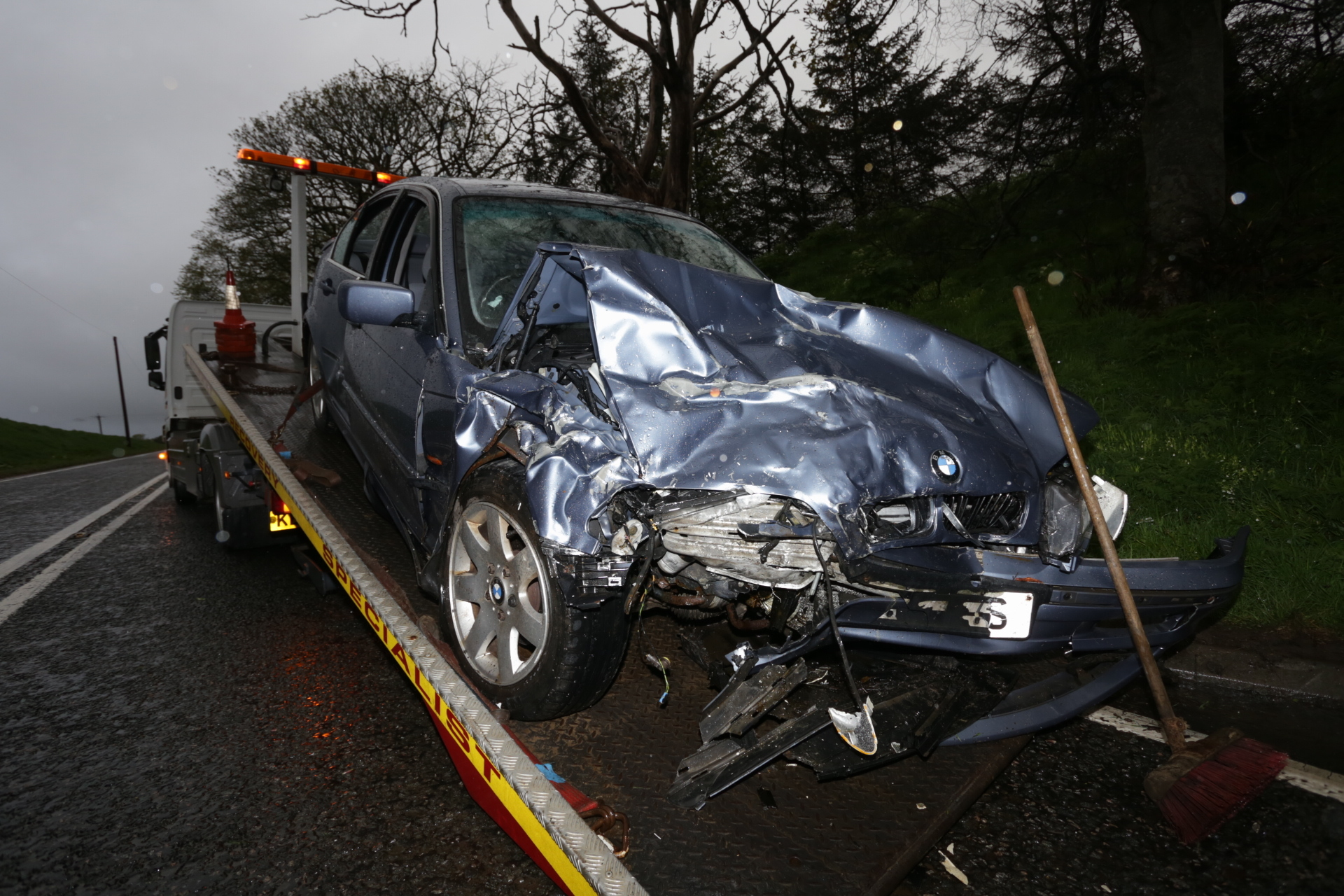 The A947 Aberdeen to Banff route has been the scene of a series of serious car crashes in recent years