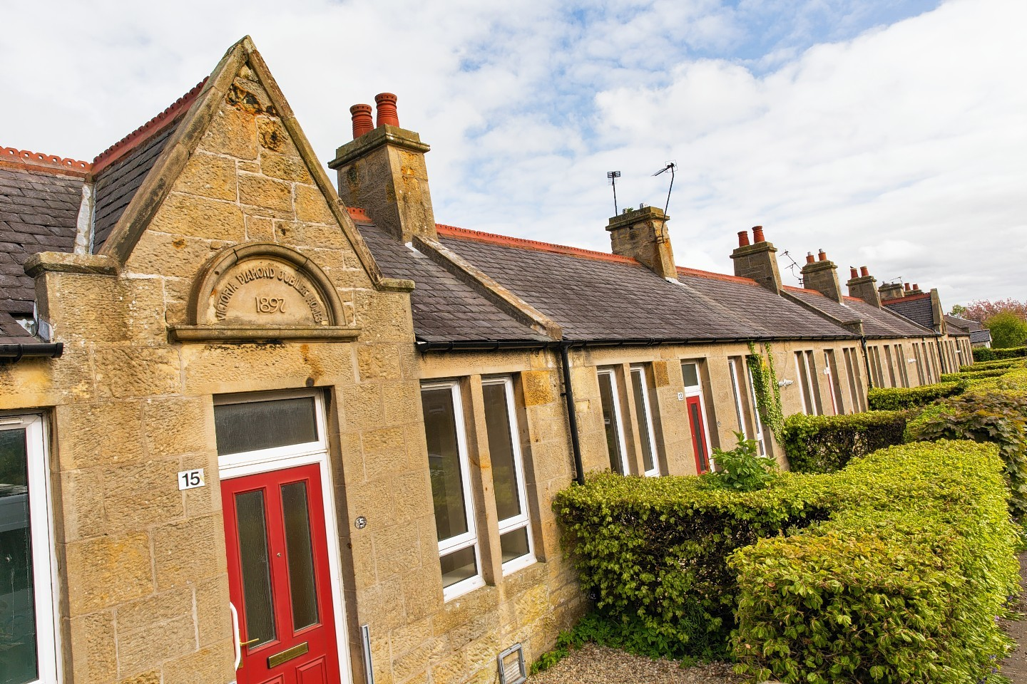 Jubilee Cottages on Victoria Road