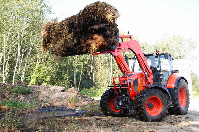 Kubota's new M7001 tractor
