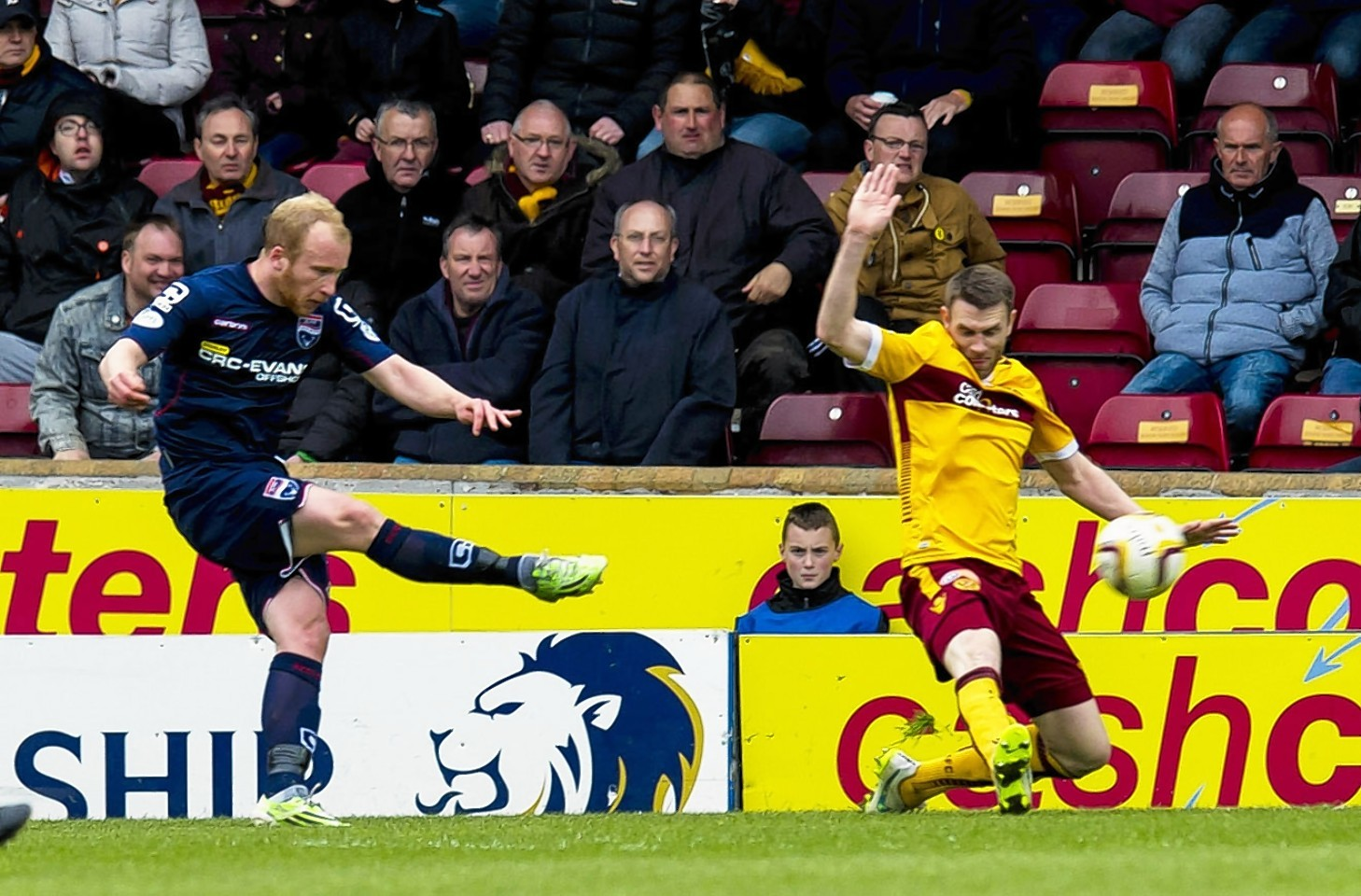 Boyce fires home against Motherwell