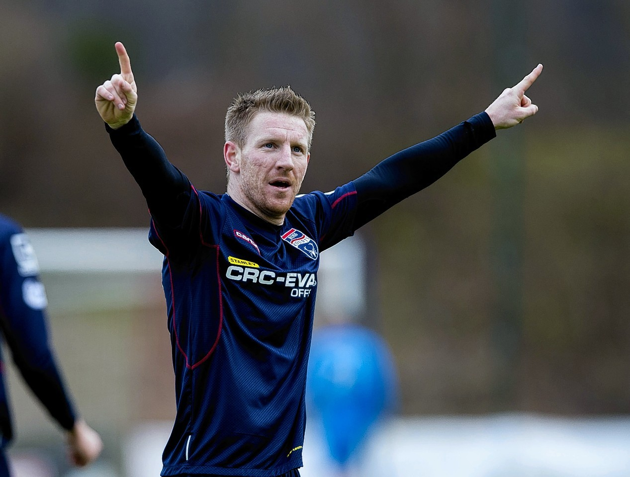 Michael Gardyne returned to Ross County from Dundee United permanently in the summer.