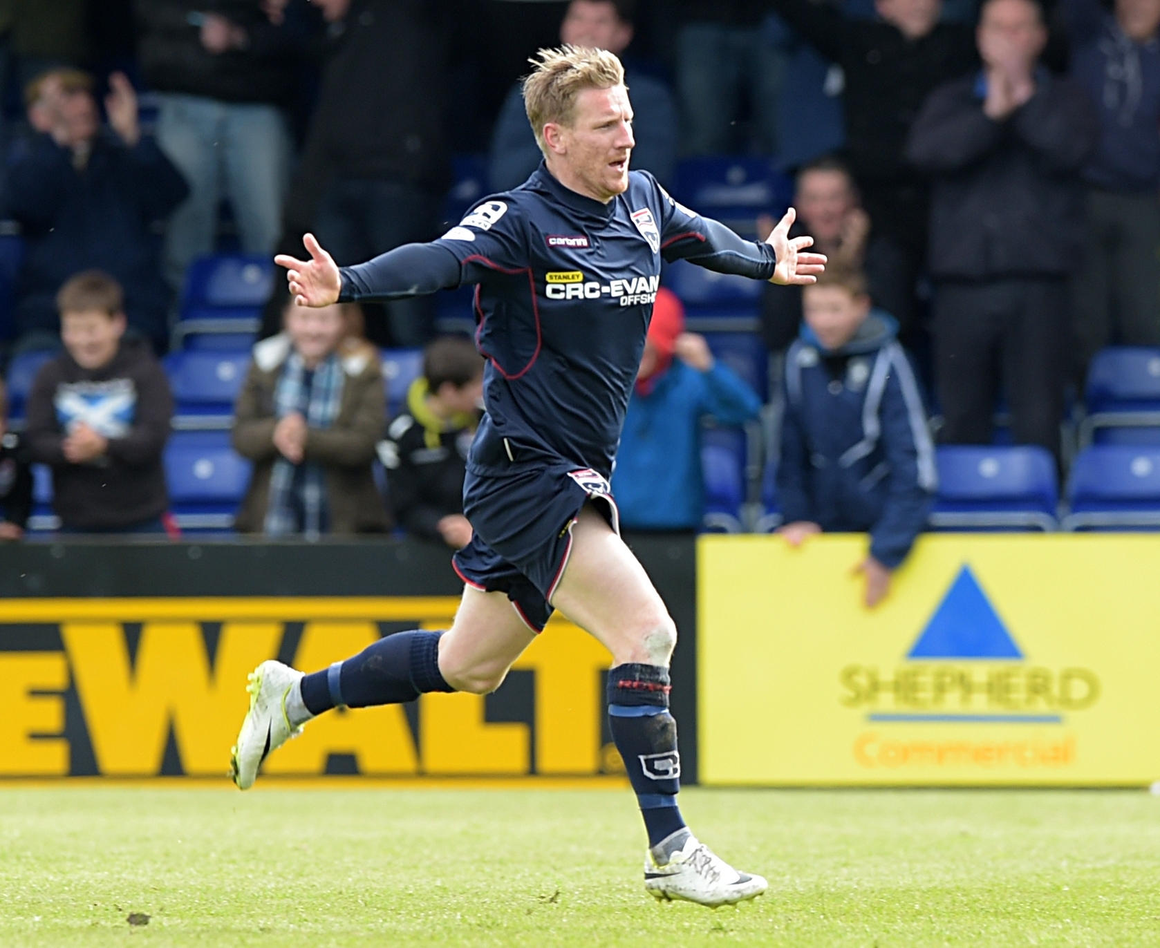 Michael Gardyne feels much-changed Ross County will only get better.