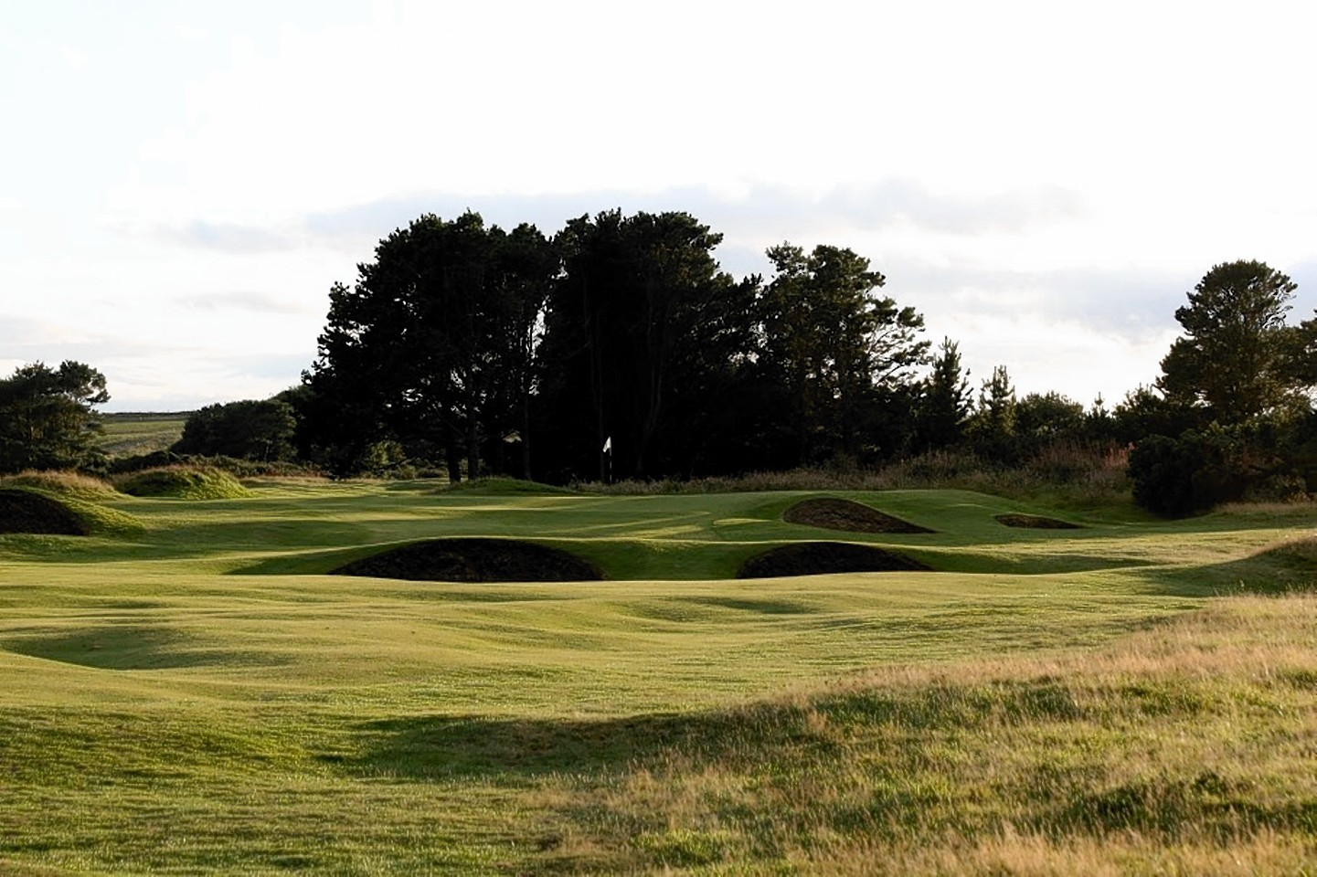 The fairways of Nairn Golf Course