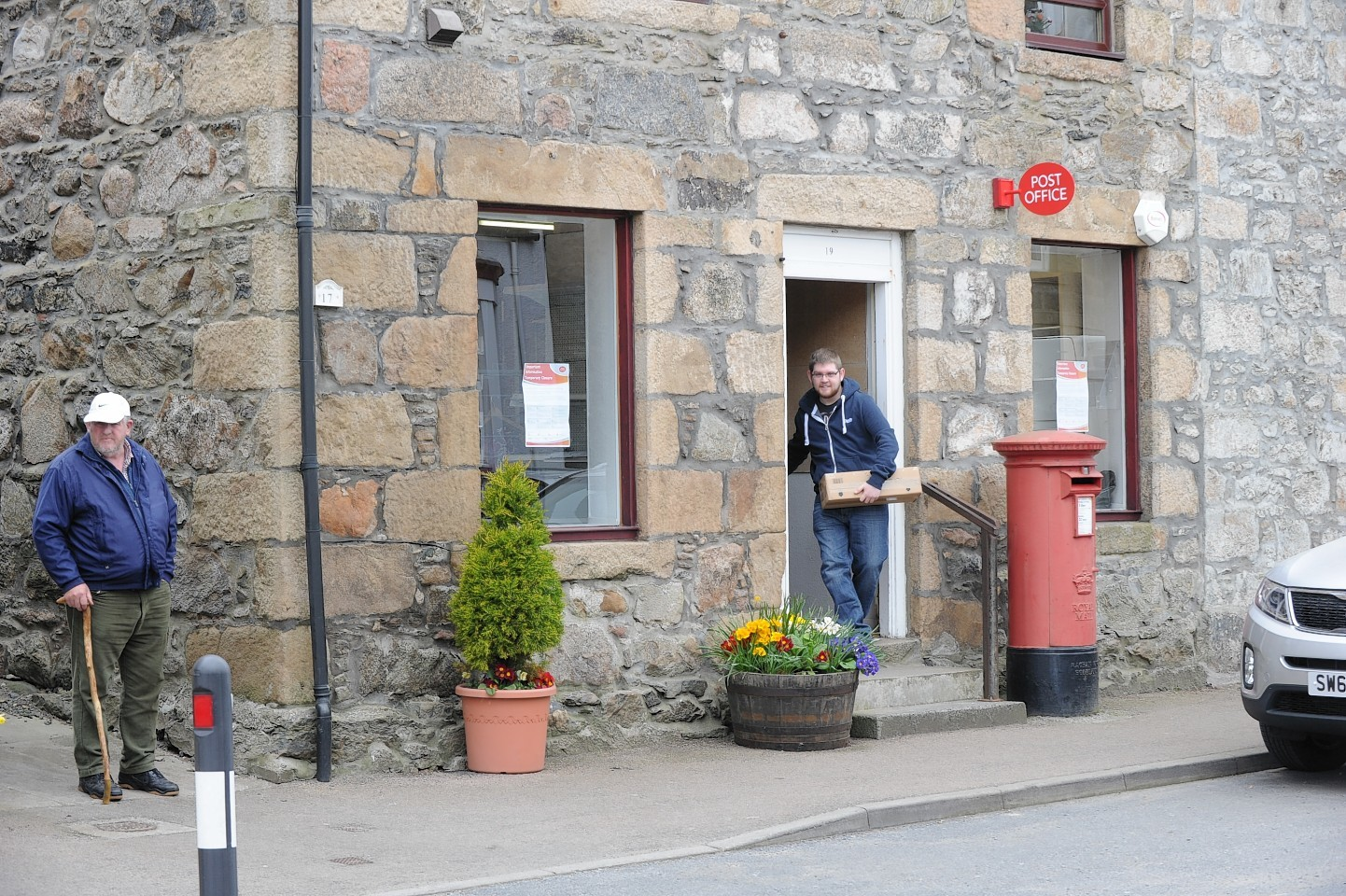 Newburgh Post Office has now been closed