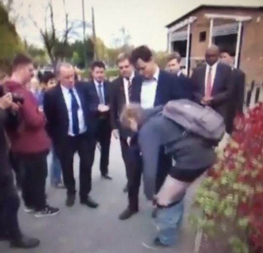 Nick Clegg and the student