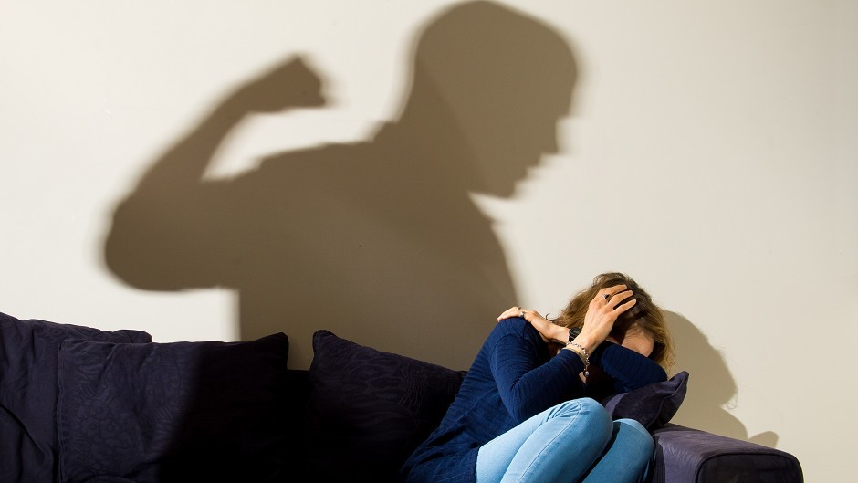 The increase in domestic violence in Moray has been put down to more work being done by police.