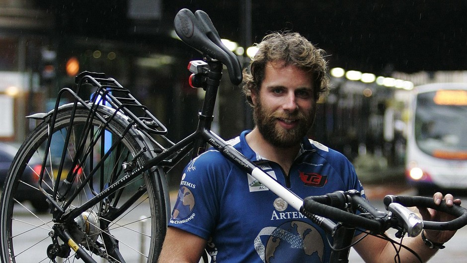 Mark Beaumont is to cycle the North Coast 500 non-stop