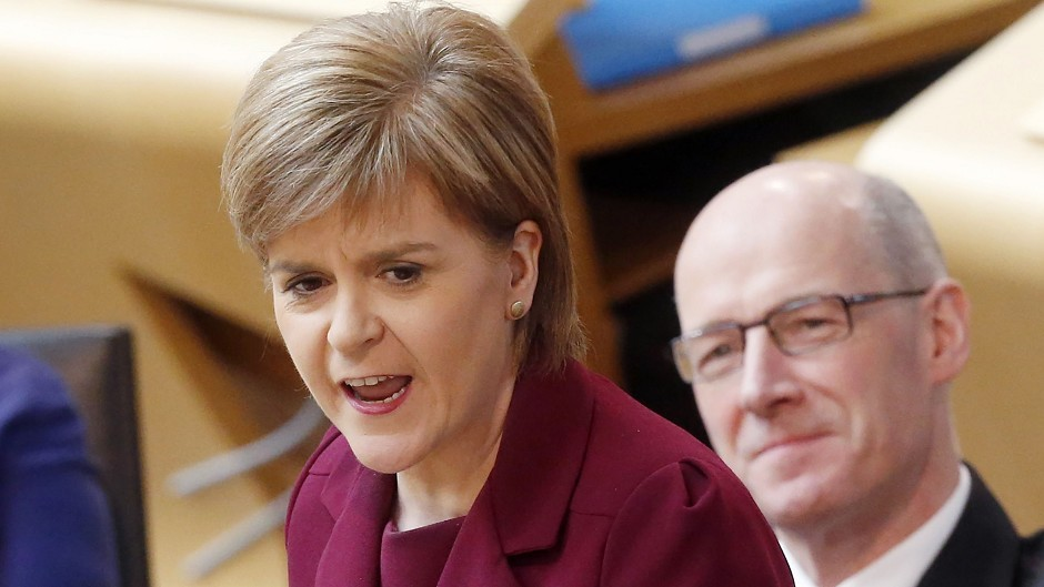 Nicola Sturgeon is examining whether improvements are required to the Laurencekirk junction