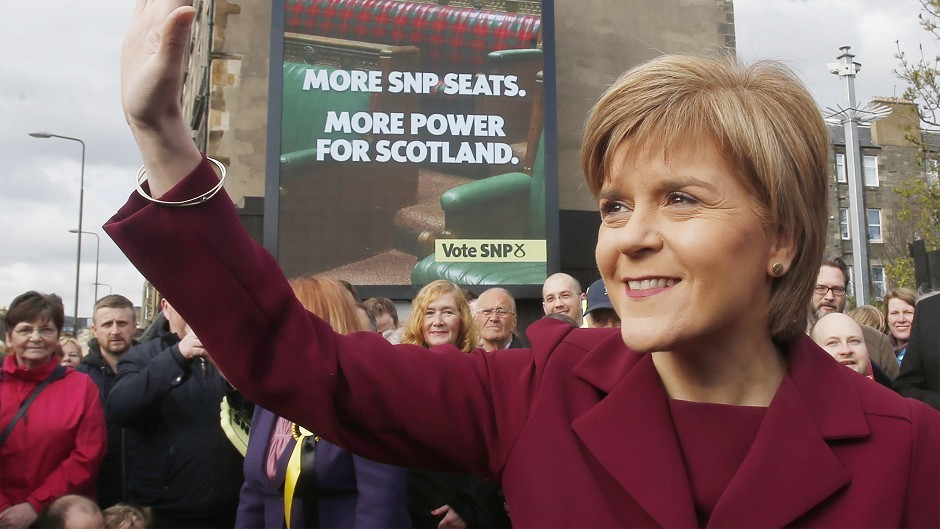 First Minister Nicola Sturgeon has called on Scots to unite behind the SNP