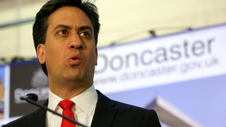 Labour Party leader Ed Miliband has resigned