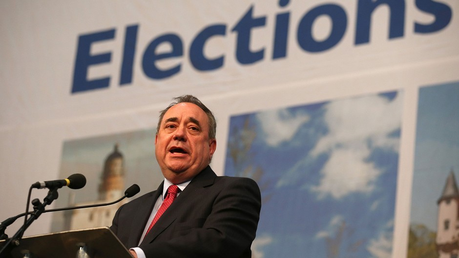 """Alex Salmond believes the appointment of a Tory Scottish secretary would be an """"insult to the country"""""""