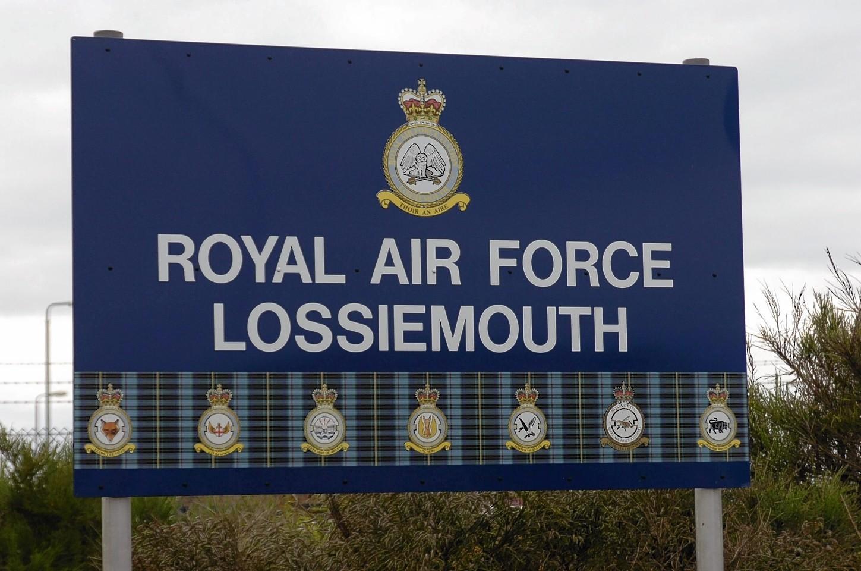 RAF Lossiemouth base