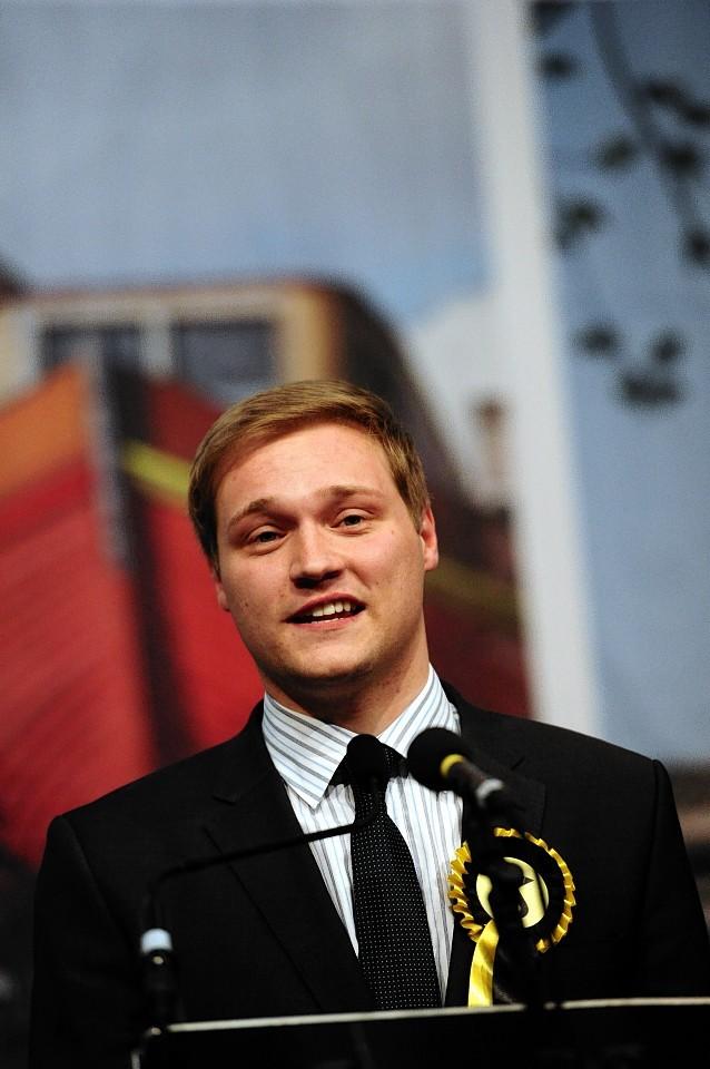 MP Stuart Donaldson, picture by Kami Thomson