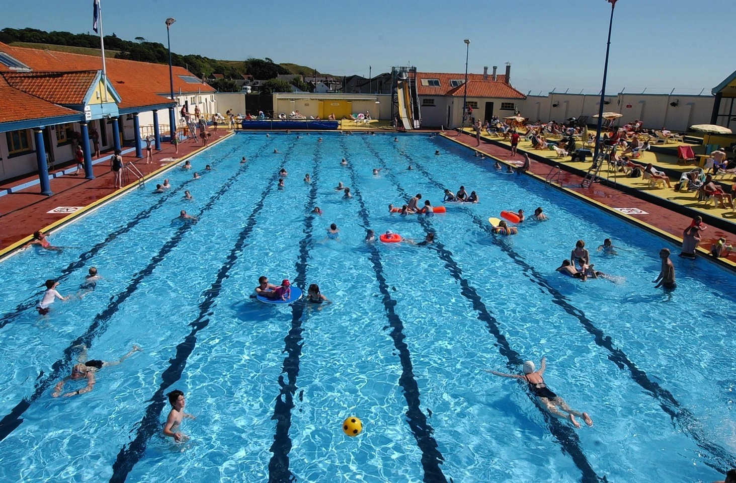 The primary six pupil  was pulled unconscious from the bottom of Stonehaven open air pool