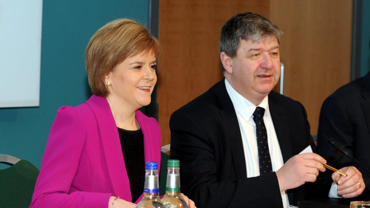 Nicola Sturgeon and Alastair Carmichael