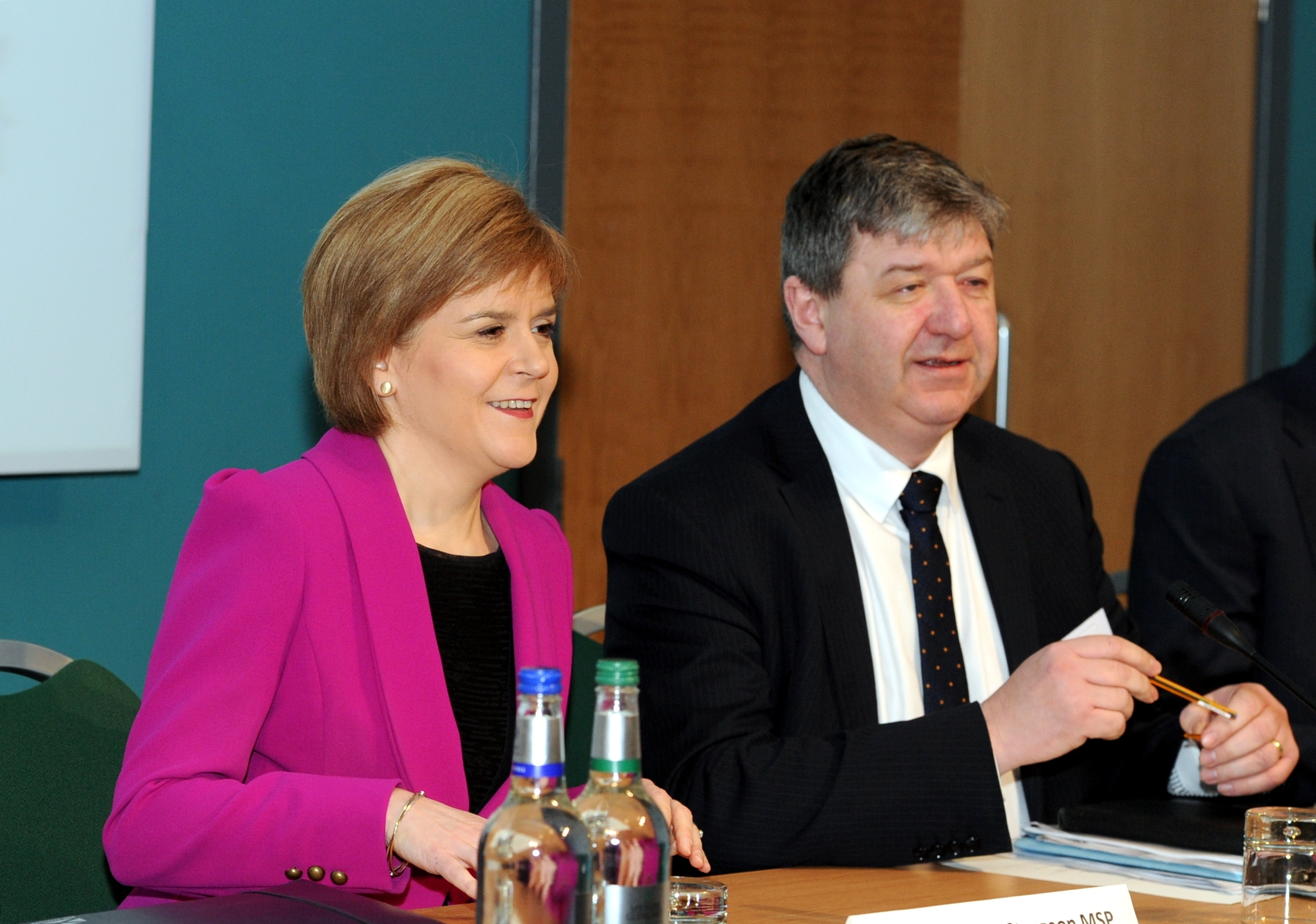 Nicola Sturgeon and Alistair Carmichael