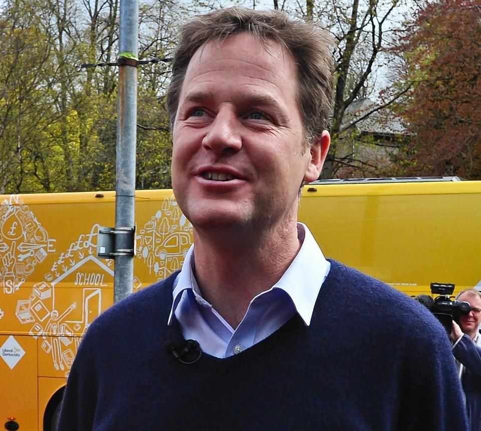 Mr Clegg has resigned