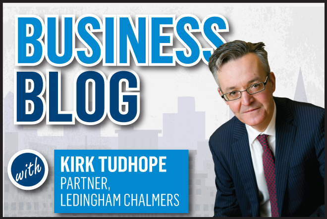 Kirk Tudhope's business blog for the P&J