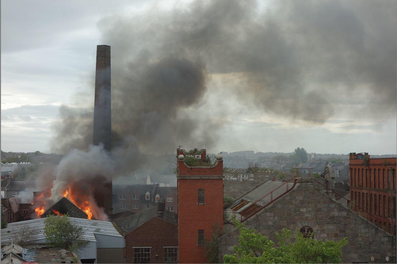 Broadford Works blaze in Aberdeen