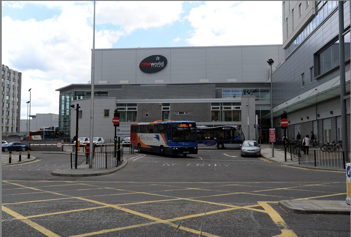 The bus was taken from Guild Street