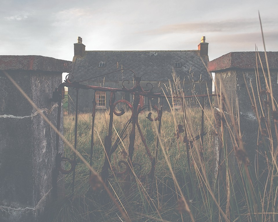 The Hebrides croft houses
