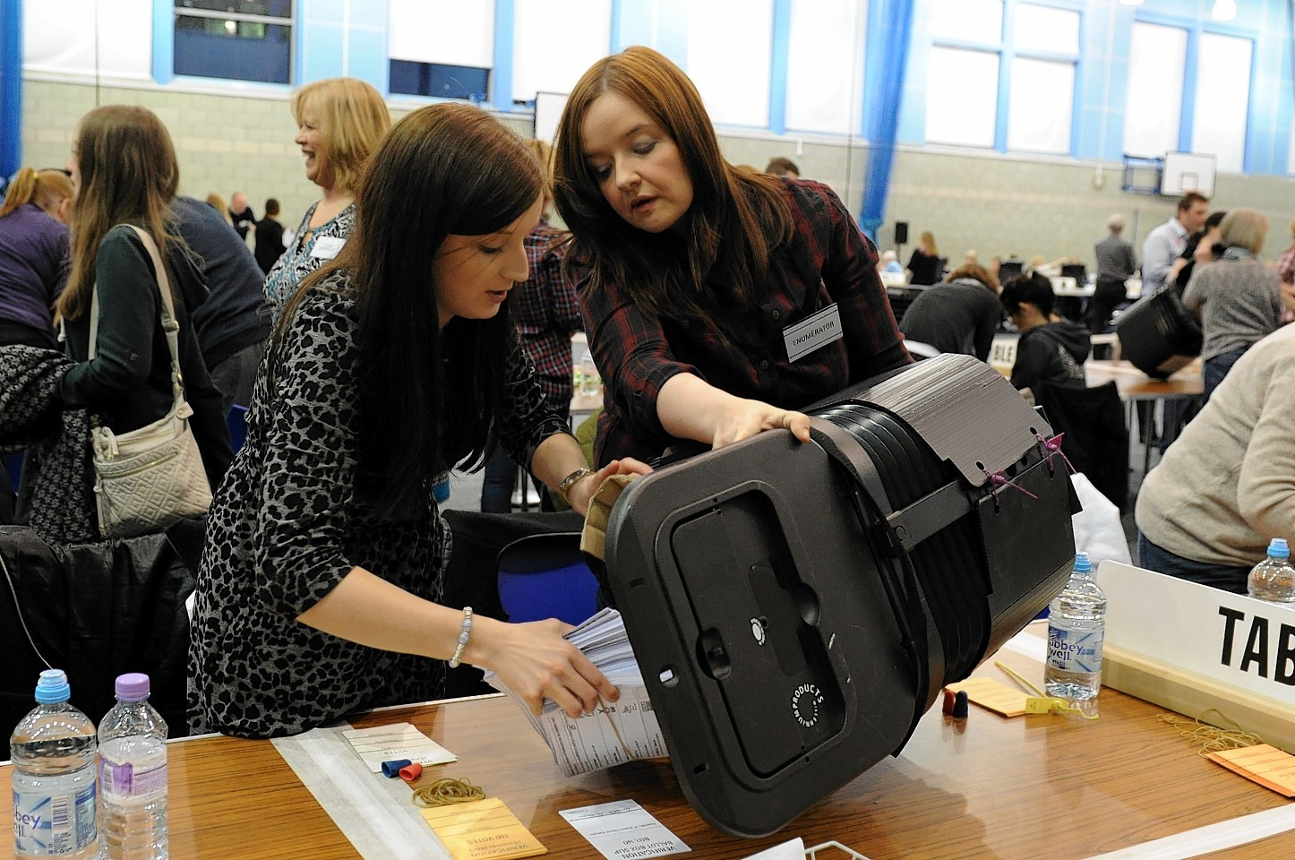 Aberdeen North and South count at Robert Gordon University (RGU).