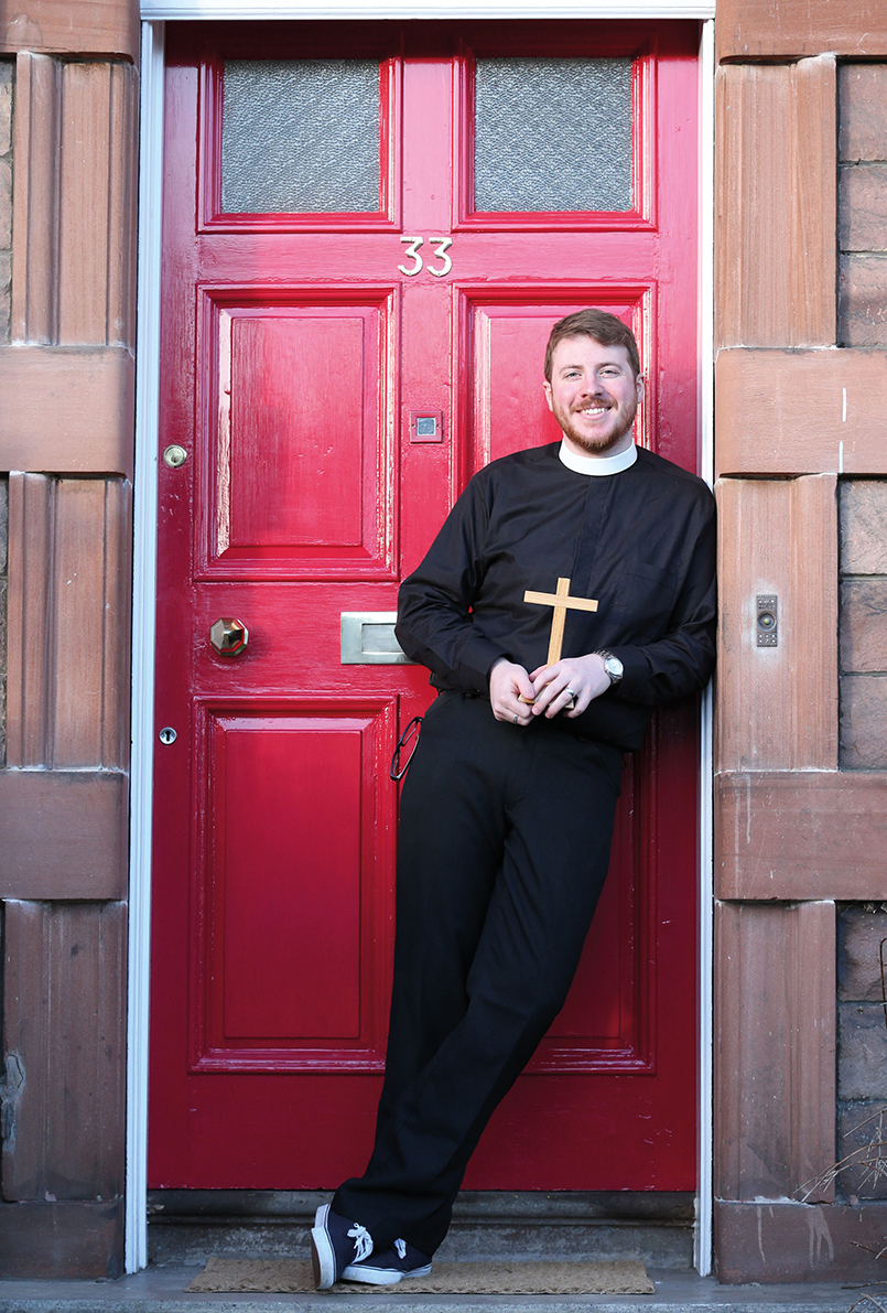 Scotland's youngest minister the Rev Michael Mair.