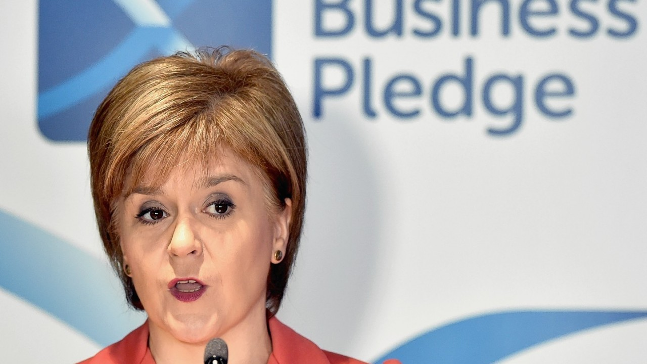 Nicola Sturgeon wants the devolved parts of the UK to have a voice in any talks to renegotiate the UK's membership of the EU.