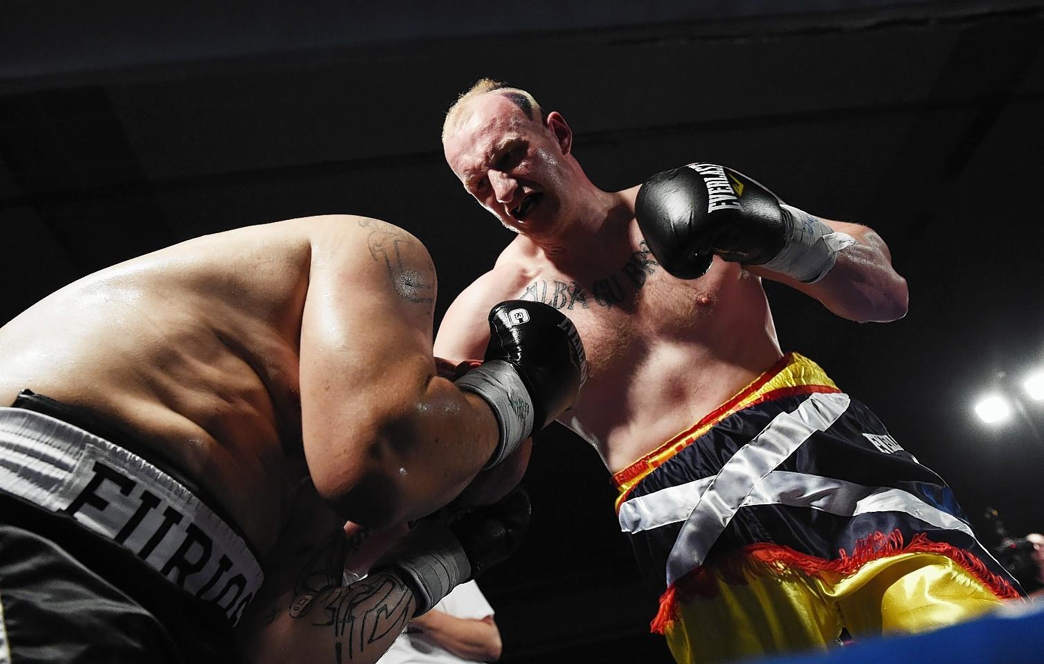 Boxer Gary Cornish